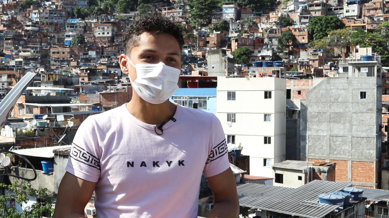 VÍDEO: Danrley Ferreira vai cursar Pedagogia e planeja atuar na alfabetização de adultos da Rocinha