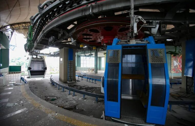 Nas vésperas de dez anos, Governo do Estado pretende retomar as atividades do Teleférico do Alemão