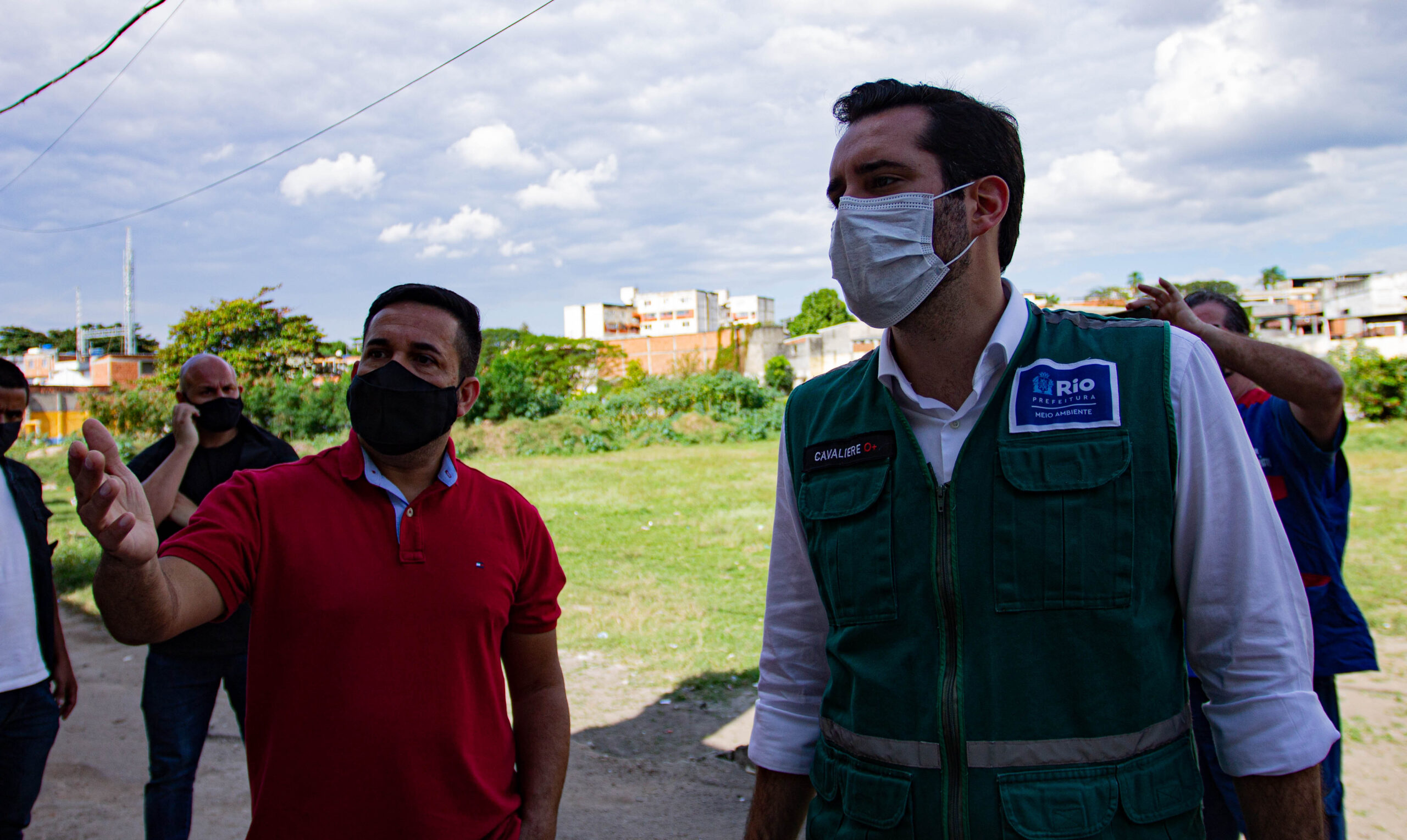 Secretário do Meio Ambiente e vereador visitam espaço destinado ao projeto 'Parque Inhaúma'