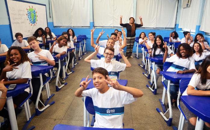Prefeitura do Rio sanciona programa que oferece reforço escolar para alunos da Rede Municipal