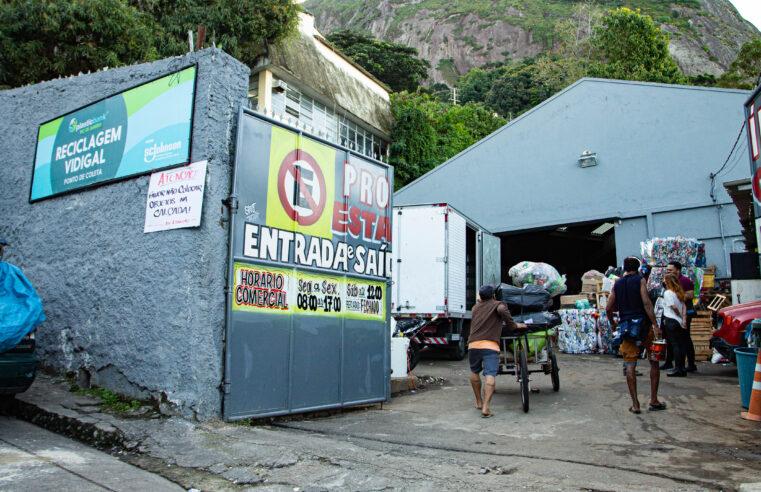 Sustentabilidade e renda: Centro de Reciclagem transforma cenário do lixo no Vidigal