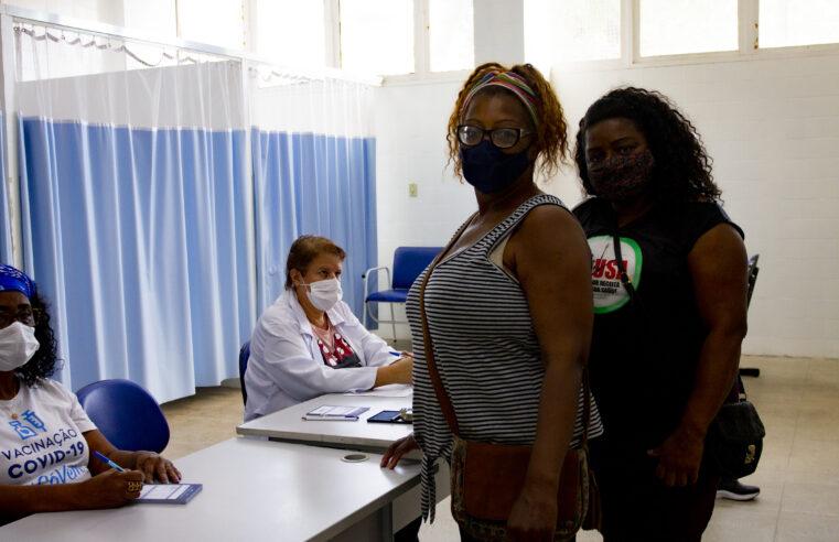 Segunda dose: Moradores de comunidade precisam completar a imunização contra Covid-19