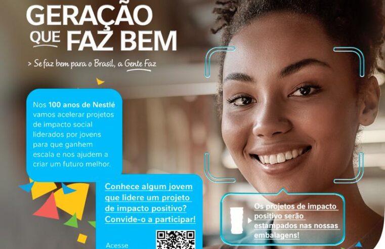 Nestlé lança ação para dar visibilidade a projetos sociais liderados por jovens brasileiros