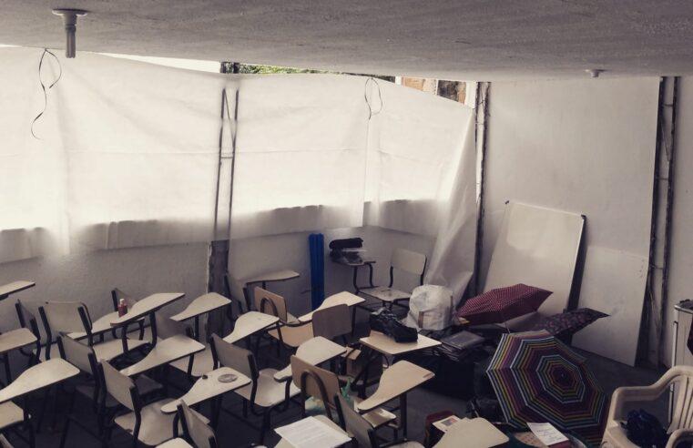 Projeto social no Alemão busca ajuda para revitalizar espaço do pré-vestibular