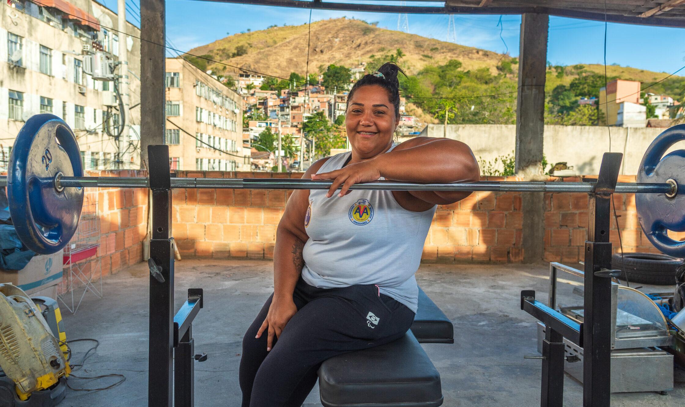 Moradora do Morro da Fé vai representar o Brasil nas Paralimpíadas