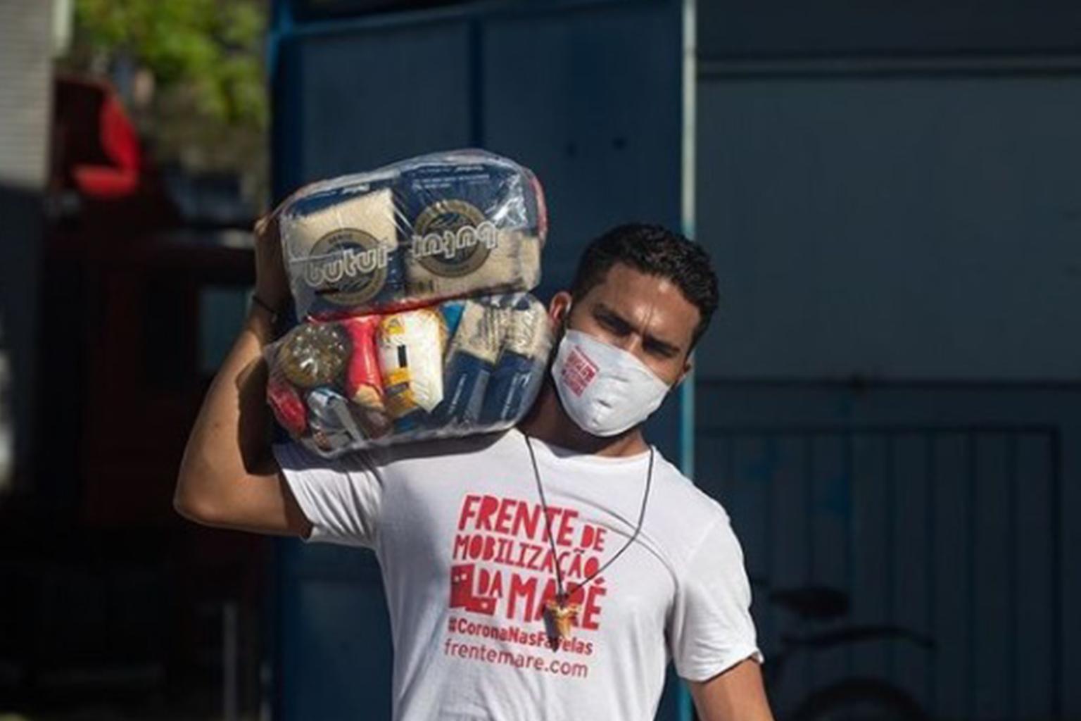 Frente Maré vai construir cozinha solidária para atender moradores da comunidade