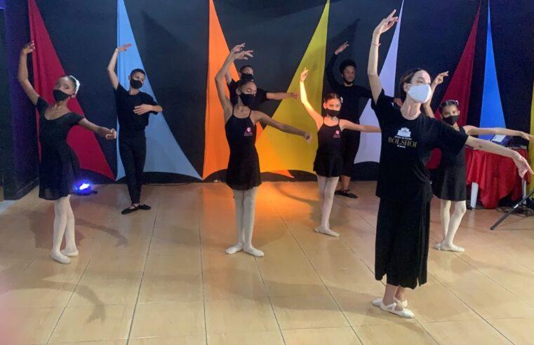 Em parceria com Instituto Arteiros, Bolshoi inicia seleção de bailarinos na Cidade de Deus