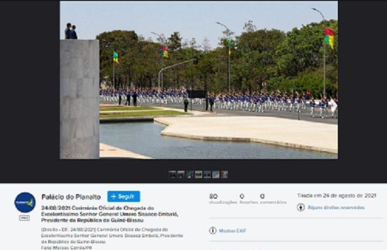 Bandeiras vermelhas NÃO foram hasteadas por comunistas acampados em Brasília