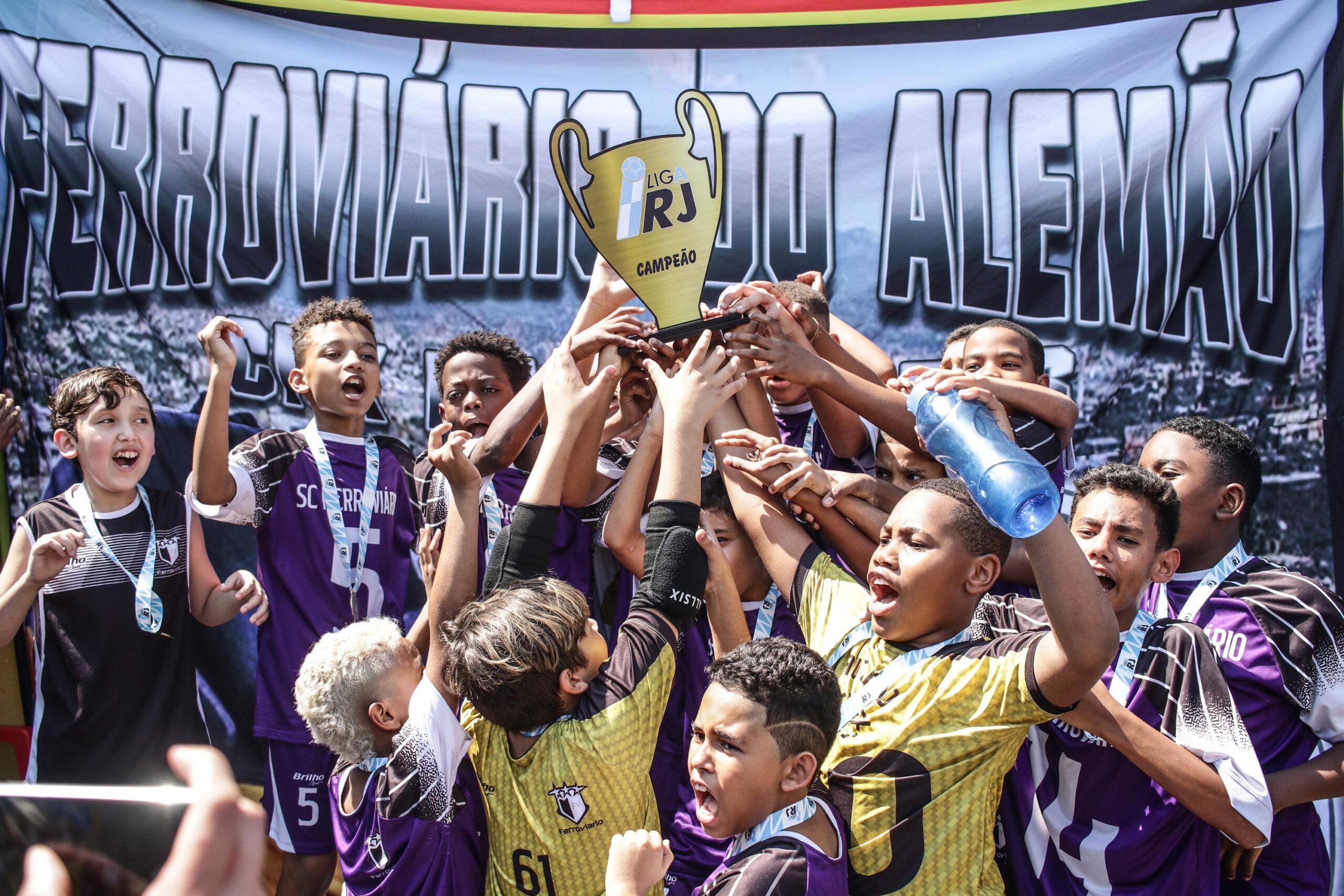 Time Ferroviário da Vila do Alemão é campeão da Liga Rio de Janeiro de Futsal