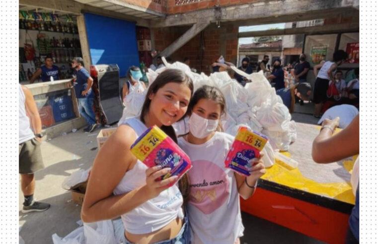 Neste sábado (18), ONG Absorvendo Amor realiza ação de distribuição de absorventes na Maré