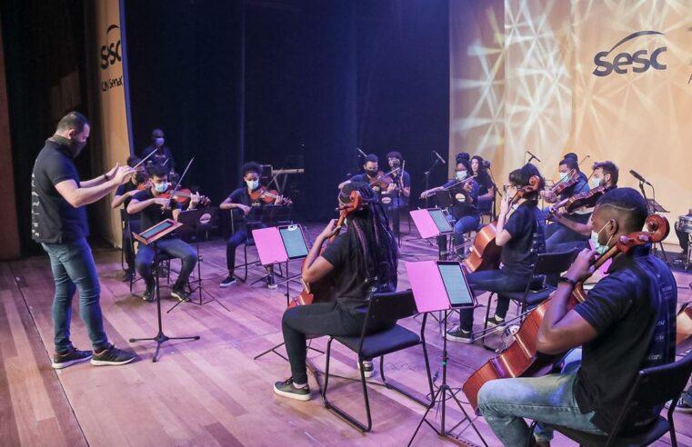 Orquestra Maré do Amanhã fará apresentação neste domingo (26) na Penha