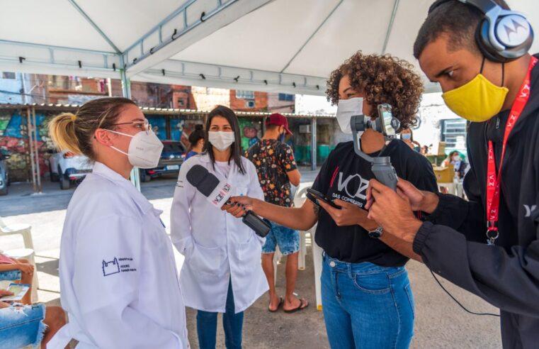 Voz das Comunidades abre vagas para voluntários de Jornalismo
