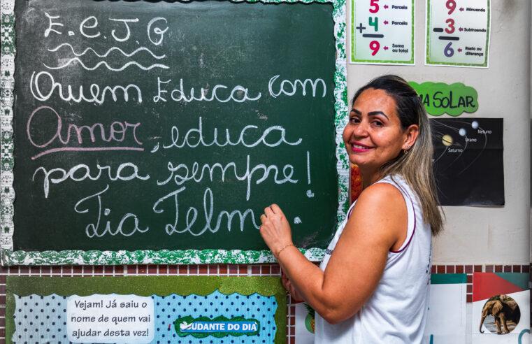 Explicadoras fazem a diferença no aprendizado das crianças na favela