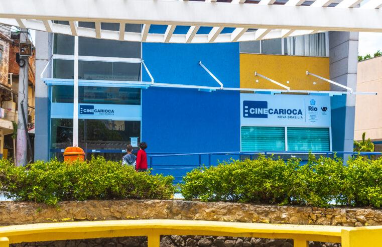 CineCarioca da Nova Brasília retoma as atividades do cinema